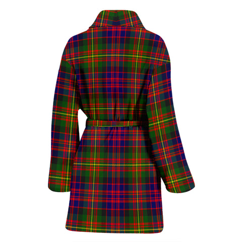 Carnegie Modern Bathrobe - Women Tartan Plaid Bathrobe Universal Fit