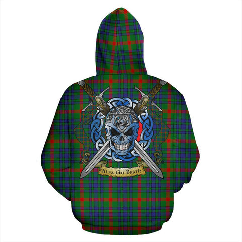 Aiton Tartan Hoodie Celtic Scottish Warrior A79 | Over 500 Tartans | Clothing | Apaprel