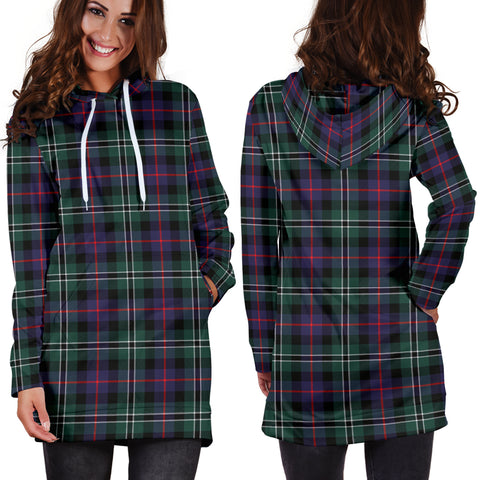 Rose Hunting Modern Tartan Hoodie Dress HJ4