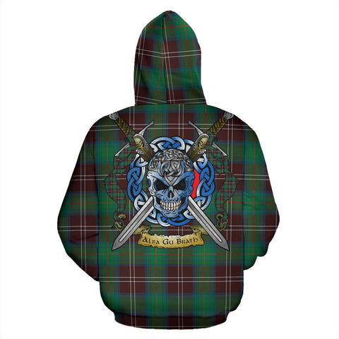 Chisholm Hunting Ancient Tartan Hoodie Celtic Scottish Warrior A79 | Over 500 Tartans | Clothing | Apaprel