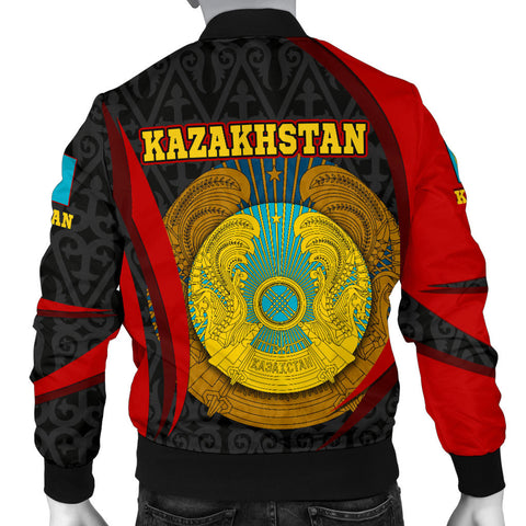 Image of Kazakhstan Bomber Jacket (Men) - Kazakhstan Spirit - BN1518