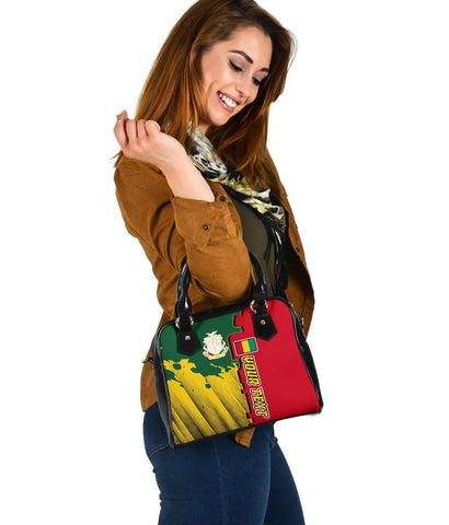 Guinea Personalised Shoulder Handbag - Independence Day