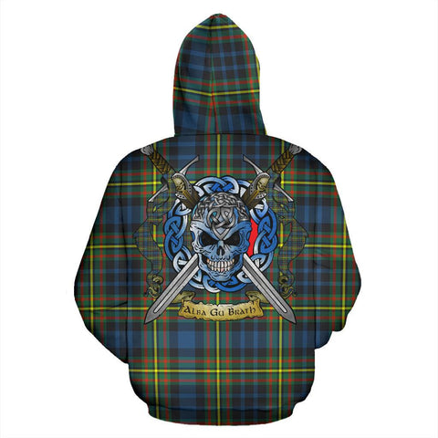 MacLellan Ancient Tartan Hoodie Celtic Scottish Warrior A79 | Over 500 Tartans | Clothing | Apaprel