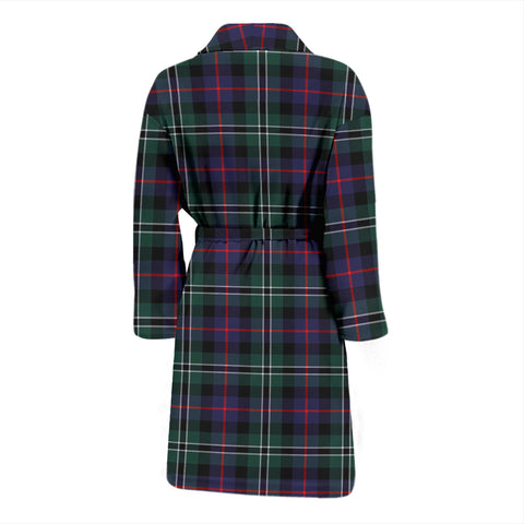 Image of Rose Hunting Modern Tartan Men's Bathrobe - Bn04