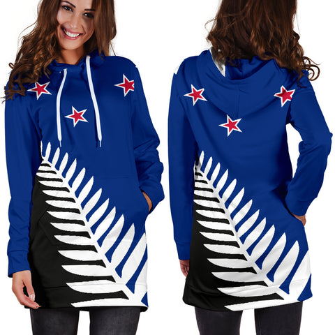 New Zealand hoodie dress- flag k7 |Women's Clothing| 1sttheworld