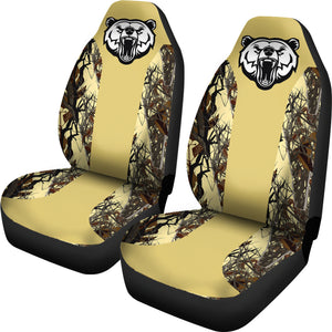 Camo Car Seat Covers - Camo Pattern 02 - BN07