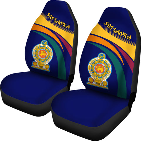 Image of Sri Lanka Coar Of Arms Car Seat Covers
