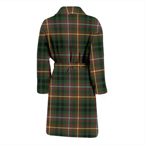 Buchanan Hunting Bathrobe - Men Tartan Plaid Bathrobe Universal Fit