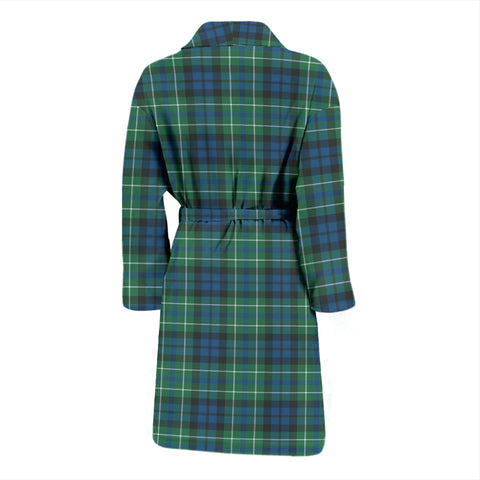 Macneill Of Colonsay Ancient Bathrobe - Men Tartan Plaid Bathrobe Universal Fit