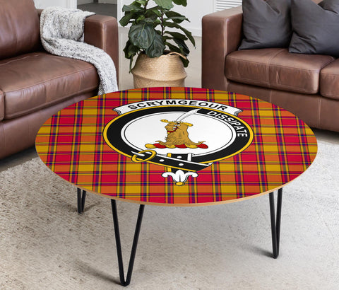 Scrymgeour Clans Cofee Table BN