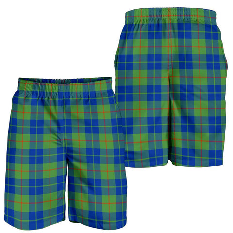 Image of Barclay Hunting Ancient Tartan Shorts For Men TH8