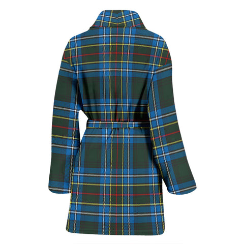 Cockburn Modern Bathrobe - Women Tartan Plaid Bathrobe Universal Fit