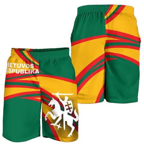 Lithuania Men Shorts N Flag A15