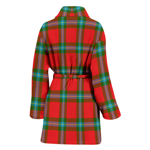 Maclaine Of Loch Buie Bathrobe - Women Tartan Plaid Bathrobe Universal Fit