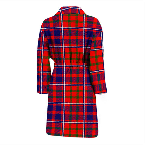 Cameron Of Lochiel Modern Bathrobe - Men Tartan Plaid Bathrobe Universal Fit