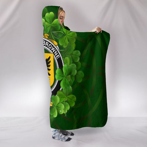 BROWNE Ireland Hooded Blanket A9