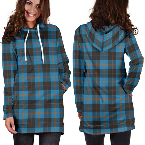 Image of Angus Ancient Tartan Hoodie Dress HJ4 |Women's Clothing| 1sttheworld