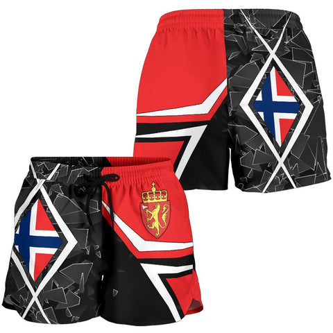 Norway All Over Print Women's Shorts - Norway Legend