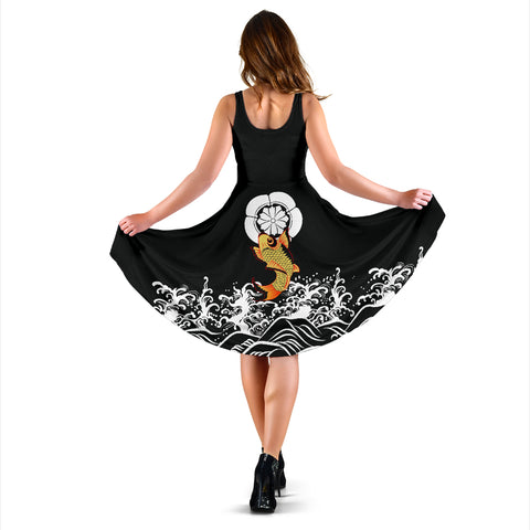 The Golden Koi Fish Dress A7