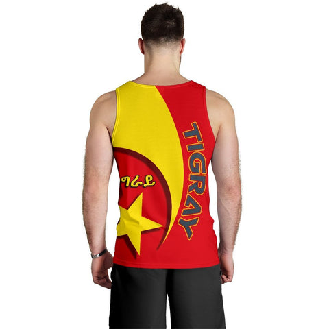 Image of 1stTheWorld Tigray Men's Tank Top New Release A25