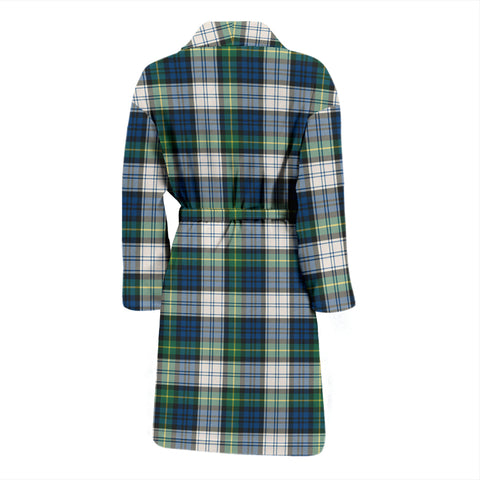 Gordon Dress Ancient Bathrobe - Men Tartan Plaid Bathrobe Universal Fit