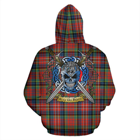Image of MacPherson Ancient Tartan Hoodie Celtic Scottish Warrior A79 | Over 500 Tartans | Clothing | Apaprel