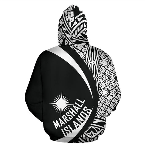 Marshall Islands Turtle Polynesian Hoodie - Circle Style 06 J9