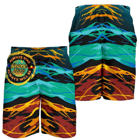 Image of Australia Men's Shorts - Naidoc Always Was, Always Will Be - BN17