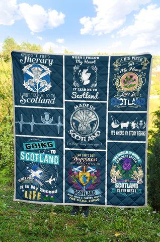 Image of Scotland Premium Quilt TH0