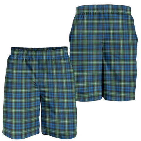 Image of Lamont Ancient Tartan Shorts For Men TH8