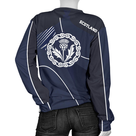 Scotland Women's Sweater - Increase Version back
