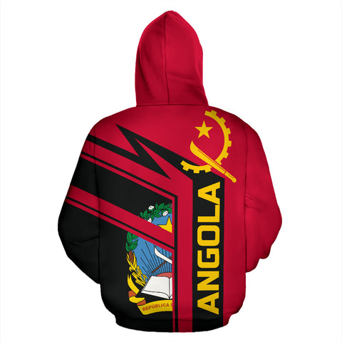 Image of Angola Air Zip-Up Hoodie TH0