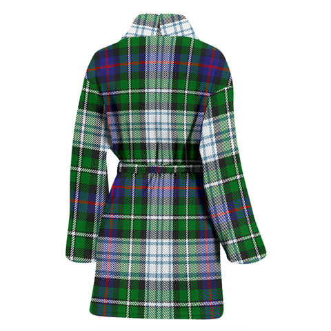 Image of Mackenzie Dress Modern Tartan Women's Bathrobe - Bn03