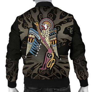 Ireland Book of Kells Mark Men Bomber Jacket TH6
