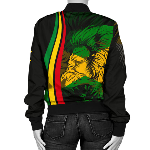 Image of Jamaica Women's Bomber Jacket