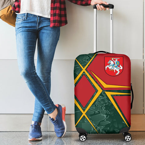 Image of Lithuania Luggage Covers - Lithuania Legend