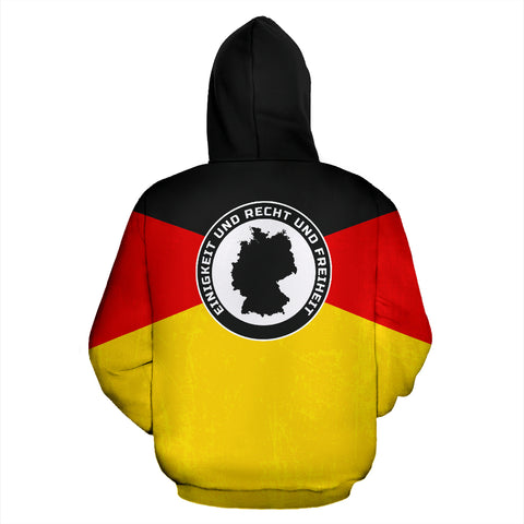 Germany Spirit Pullover Hoodie A16