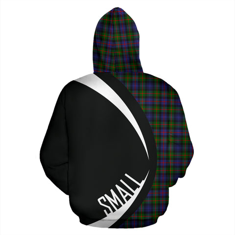 (Small) Murray of Atholl Modern Tartan Circle Hoodie HJ4