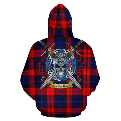 MacLachlan Modern Tartan Hoodie Celtic Scottish Warrior A79 | Over 500 Tartans | Clothing | Apaprel