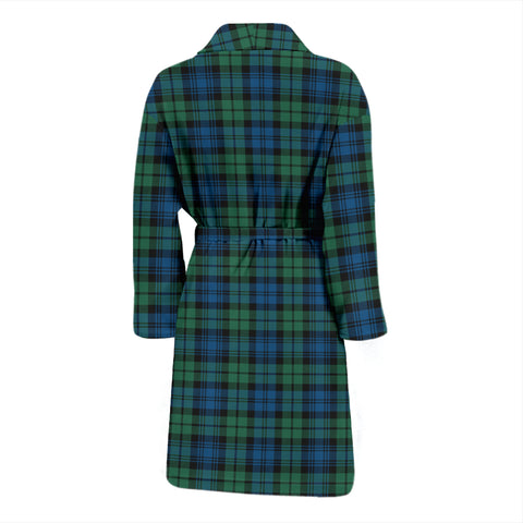Campbell Ancient 02 Bathrobe - Men Tartan Plaid Bathrobe Universal Fit