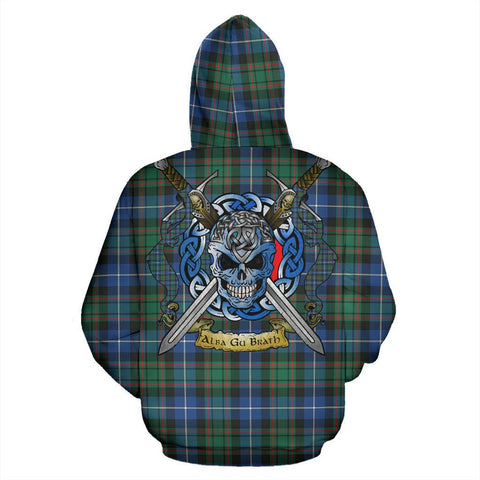 MacRae Hunting Ancient Tartan Hoodie Celtic Scottish Warrior A79 | Over 500 Tartans | Clothing | Apaprel