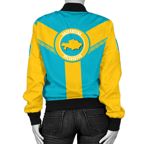 Image of Kazakhstan Bomber Jacket Rising Women A10