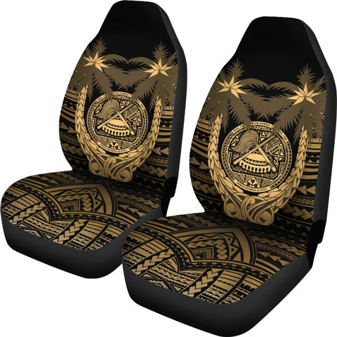 American Samoa Polynesian Coconut Car Seat Covers (Set of 2) | Love The World