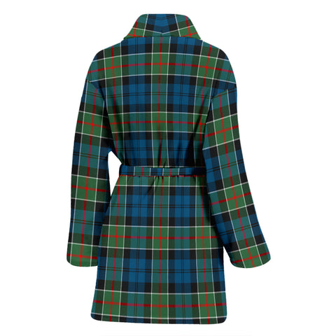 Colquhoun Ancient Bathrobe - Women Tartan Plaid Bathrobe Universal Fit