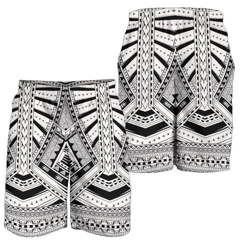 Polynesian All Over Print Men's Shorts