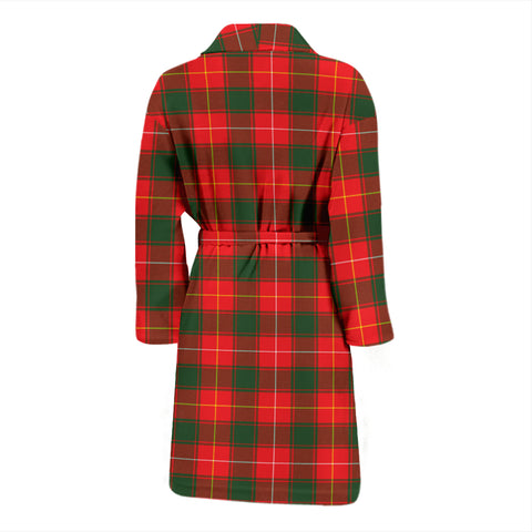 Image of Macphee Modern Tartan Men's Bathrobe - Bn04