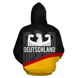 Germany Flag Wave Hoodie TH9