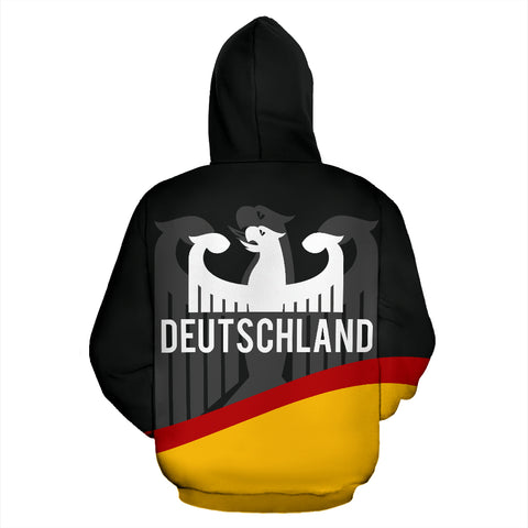 Germany Flag Wave Hoodie