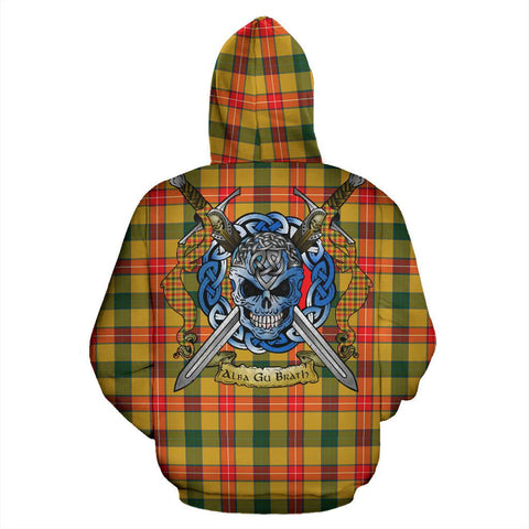 Image of Baxter Tartan Hoodie Celtic Scottish Warrior A79 | Over 500 Tartans | Clothing | Apaprel