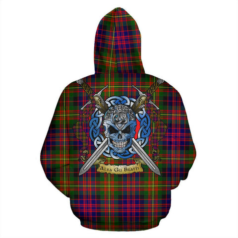 Image of Carnegie Modern Tartan Hoodie Celtic Scottish Warrior A79 | Over 500 Tartans | Clothing | Apaprel